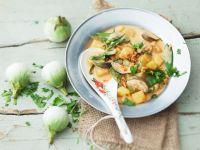 Kartoffel-Auberginencurry Rezept