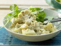 Kartoffel-Blumenkohl-Curry Rezept