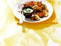 Kartoffel-Champignon-Pfanne Rezept