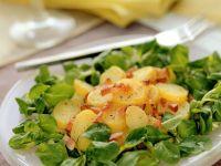 Kartoffel-Feldsalat mit Speck