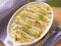 Kartoffel-Fenchel-Auflauf Rezept