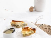 Kartoffel-Filoteigkuchen mit Feta Rezept