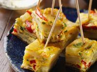 Kartoffel-Frittata mit Paprika Rezept