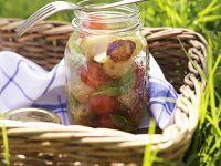Kartoffel-Frucht-Salat Rezept