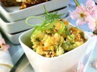 Kartoffel-Gurken-Creme mit Mandeln