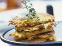 Kartoffel-Kürbis-Küchlein Rezept