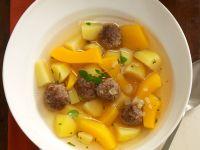 Kartoffel-Kürbis-Suppe Rezept