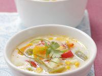 Kartoffel-Mais-Suppe mit Paprika Rezept