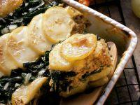 Kartoffel-Mangold-Auflauf Rezept