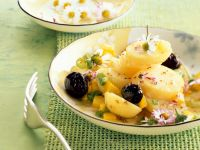 Kartoffel-Olivensalat Rezept