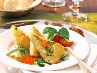 Kartoffel-Omelett mit Kaviar Rezept