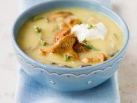 Kartoffel-Pilz-Suppe Rezept