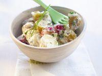 Kartoffel-Radieschen-Salat mit Schnittlauch Rezept