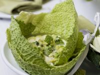 Kartoffel-Romanesco-Suppe