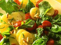 Kartoffel-Rucolasalat Rezept