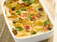 Kartoffel-Tomaten-Gratin Rezept