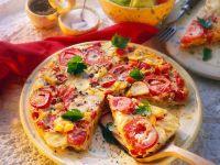 Kartoffel-Tomatentortilla