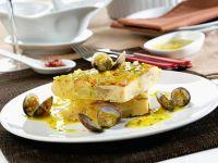 Kartoffel-Tortilla mit Muscheln Rezept