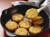 Kartoffel-Zwiebel-Bratlinge Rezept