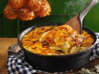 Kartoffel-Zwiebel-Gratin Rezept