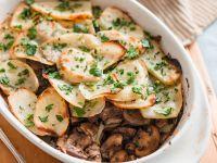 Kartoffelauflauf mit Pilzen Rezept
