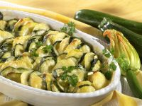 Kartoffelauflauf mit Zucchini Rezept
