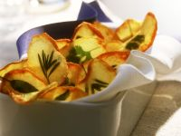 Kartoffelchips mit Kräutern Rezept