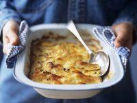 Kartoffelgratin auf französische Art (Pommes dauphinoises) Rezept