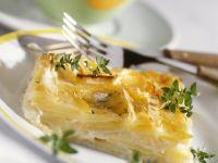 Kartoffelgratin mit Apfel Rezept