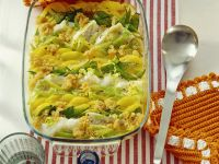 Kartoffelgratin mit Forelle Rezept