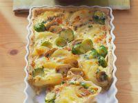 Kartoffelgratin mit Gemüse Rezept