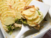 Kartoffelgratin mit Lauch Rezept