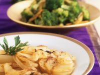 Kartoffelgratin mit Zwiebeln Rezept