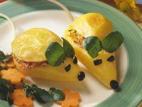 Kartoffelmäuse mit Möhren und Käse gefüllt Rezept