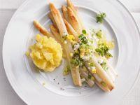 Kartoffeln, Ei und Spargel Rezept