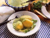 Kartoffeln mit Kräutersauce Rezept