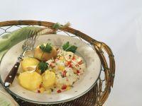 Kartoffeln mit Paprika-Quark Rezept