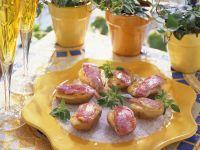 Kartoffeln mit Rotbarbe Rezept