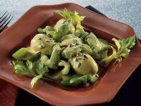 Kartoffeln und Sellerie mit Buttersauce Rezept