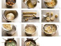 Kartoffelnocken mit Salbeibutter Rezept
