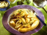 Kartoffelnudeln mit Sauerkraut Rezept