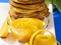 Kartoffelpuffer mit Ananaskompott Rezept