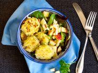 Kartoffelpuffer Salat Bowl Rezept