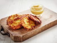 Kartoffelrösti mit Apfelmus Rezept
