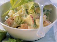 Kartoffelsalat mit Gemüse und Apfel Rezept