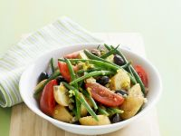 Kartoffelsalat mit grünen Bohnen Rezept