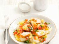 Kartoffelsalat mit Hähnchen Rezept