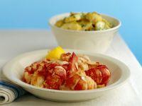 Kartoffelsalat mit Hummer Rezept