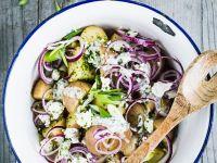Kartoffelsalat mit Joghurtdressing Rezept