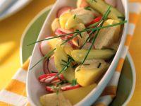 Kartoffelsalat mit Radieschen Rezept